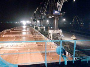 В Украину прибыл корабль с углемиз ЮАР