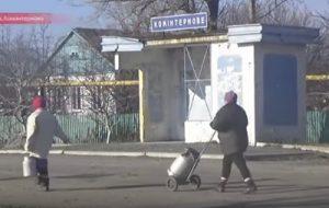 Российские СМИ показали видео из Коминтерново
