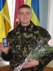 В Запорожской области наградили пенитенциария-участника АТО