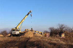 Новый коллектор обещают построить уже в начале года