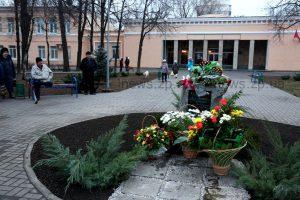 В Запорожье открылся памятный знак бывшему главе района