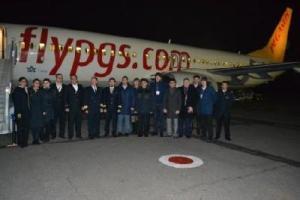 Как в Запорожье открывали авиарейс на Стамбул