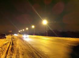 Вандалы украли светильники, которыми гордились дорожники