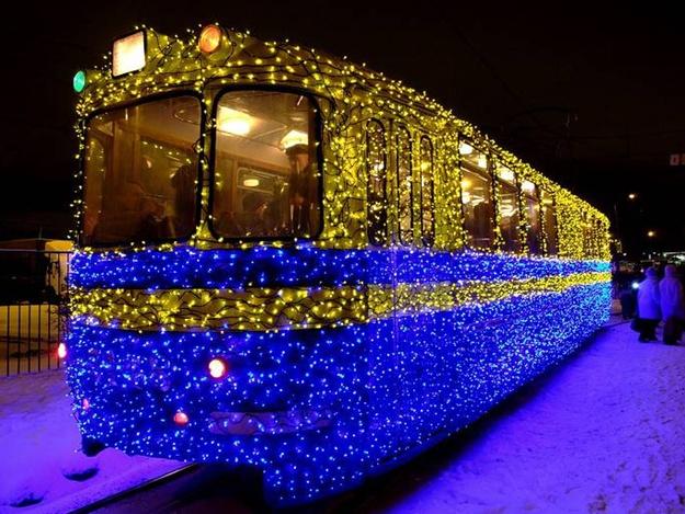 График работы общественного транспорта Запорожья в новогоднюю ночь