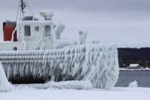 ГСЧС: На Азовском море ожидается обледенение судов