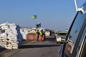 На блокпосту в Запорожской области ранили военного