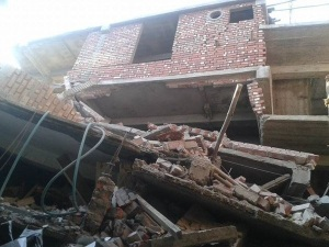 В Индии произошло мощное землетрясение, есть жертвы