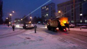 В Киеве будут круглосуточно убирать снег