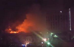 Девять человек погибли во время пожара в Москве