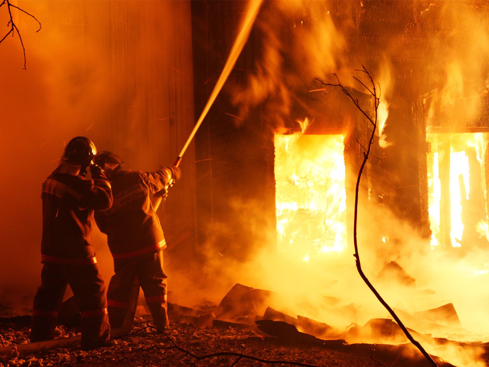 За сутки запорожские спасатели ликвидировали 2 пожара