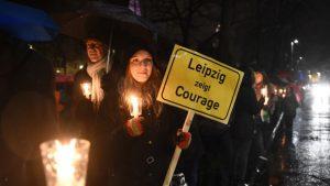 В Лейпциге радикалы устроили крупные беспорядки