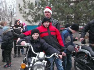 Запорожский интернат посетили байкеры
