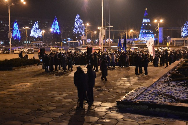Запорожцы перед ОГА отметят вторую годовщину разгона Майдана