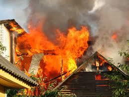 В Шевченковском районе Запорожья горел частный дом