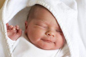 В Запорожье в новом году первым родился мальчик - ФОТО