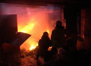 В Запорожской области произошел пожар в жилом доме на Набережной
