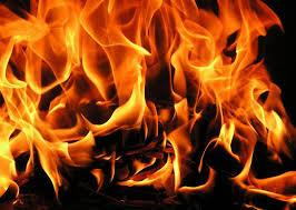 В Запорожской области горел склад: есть пострадавший