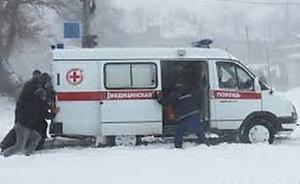 Запорожские спасатели помогли «скорой»