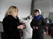 В Бердянск привезли 7 тонн теплых вещей из Эстонии