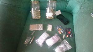 У запорожца изъяли 400 граммов марихуаны