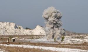 Под Запорожьем пиротехники обезвредили 4 снаряда времен войны