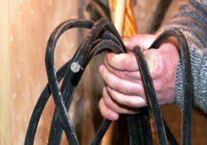 В Бердянске задержали бригаду «металлистов»
