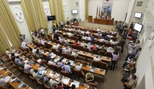 На вторую сессию Запорожского горсовета пришли 57 депутатов