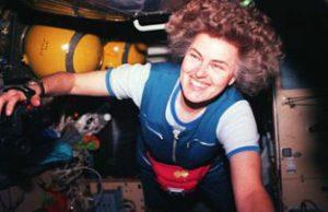 Известная на весь мир женщина-астронавт рассказала запорожским студентам, как
