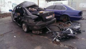 В сети появились фото жуткой аварии в Мелитополе