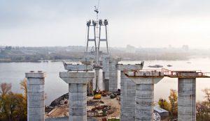 Служба автодорог назвала информацию о разрушении мостовых опор недостоверной