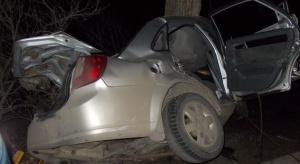 Спасатели показали фото покореженного на улице Скворцова автомобиля