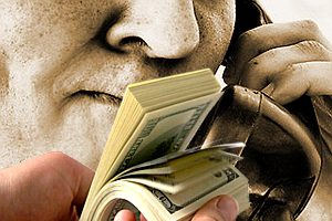 Жительница Мелитополя заплатила 40 тыс грн за «спасение» сына, который находился дома