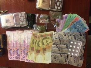 Житель Запорожья хранил дома наркотики и оружие