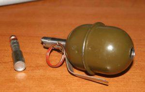 Житель Запорожья «коллекционировал» патроны и гранаты
