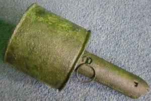 Житель Запорожской области хранил на даче запал от противотанковой гранаты времен войны