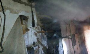Горящие провода в доме оставили мелитопольцев без кухни