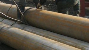 Житель Мелитополя оказался заблокированным между труб теплотрассы