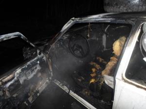 На Пологовской трассе шестеро пожарных тушили таврию