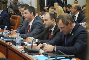 Сессия Запорожского городского совета в фотографиях