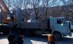 Все демонтированные памятники установят в парке Победы к 9 мая