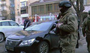 Специалисты спецбатальона «Скиф» задержали двоих угонщиков автомобиля