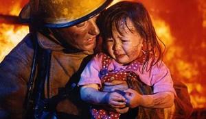 В Запорожской области из-за пожара  молодая семья осталась без дома