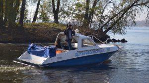 Под Запорожьем рыбинспекция словила двоих рыбаков-нарушителей