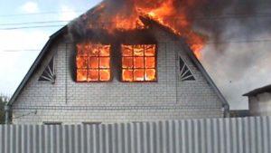 Под Запорожьем во время пожара погибла женщина