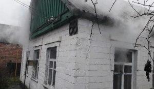 Спасатели ликвидировали пожар в частном жилом доме Запорожья