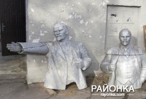 Откопали и декоммунизировали: В Пологовский музей привезли Ленина с историей
