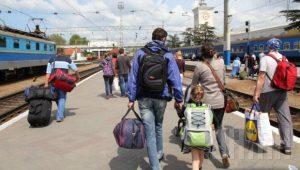 Из Запорожья в зону АТО уехало почти 7000 переселенцев