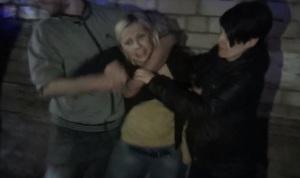В Запорожье разгонять буйных пьяниц приехало 11 патрульных полицейских машин