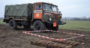 Под Запорожьем пиротехники обезвредили четыре гранаты Ф-1