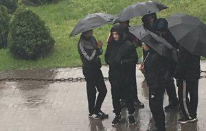 На те же грабли: «Батьківщина» и «Укроп» снова вывели студентов на митинг